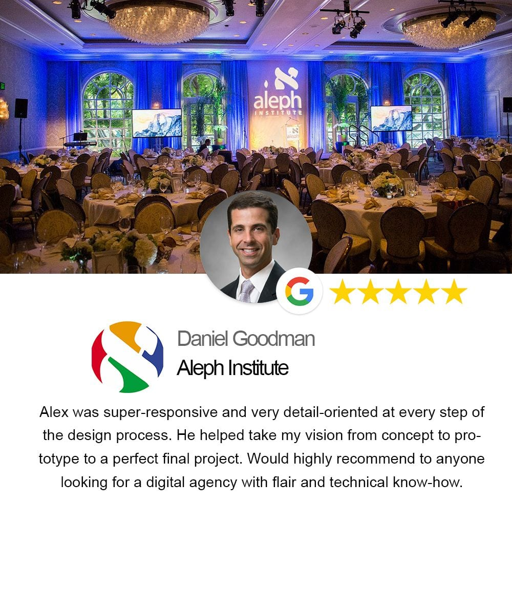 testimonial from Aleph Institute