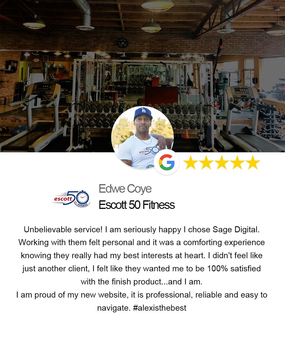 testimonial from Edwy of escott50fitness
