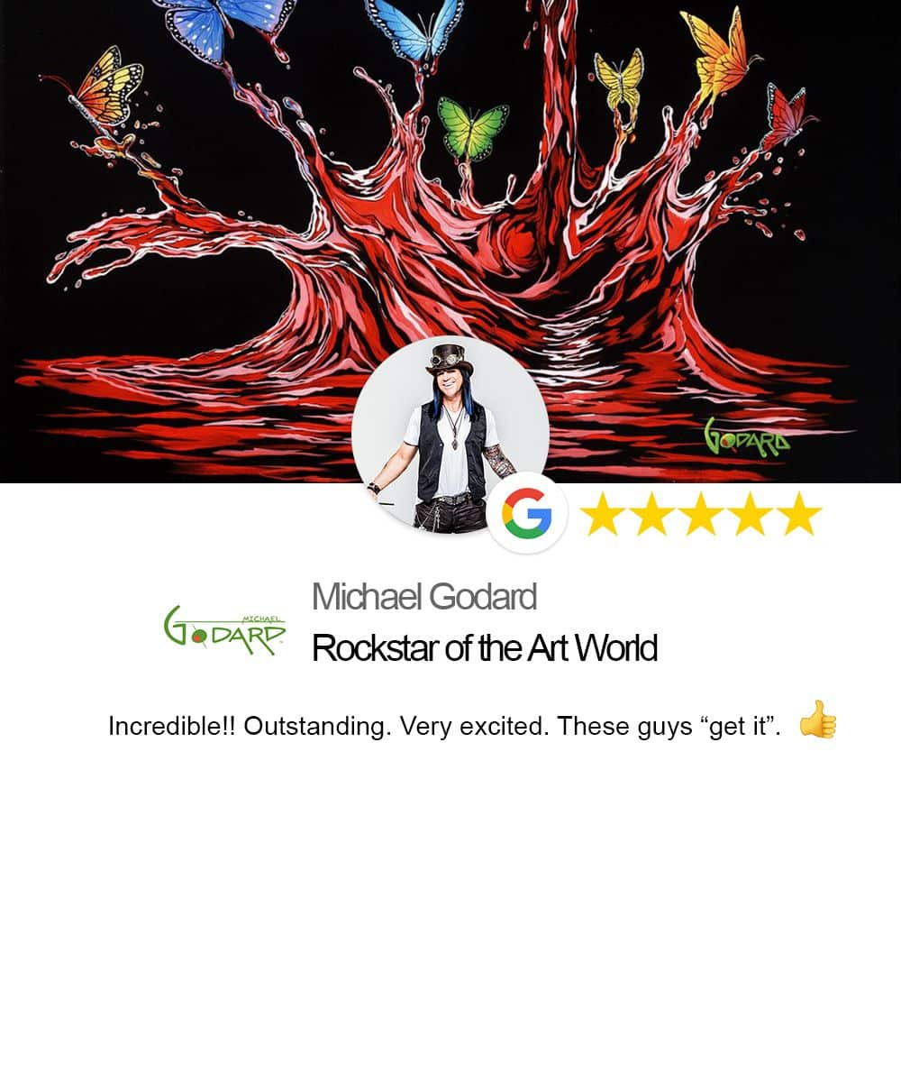 testimonial from Michael Godard