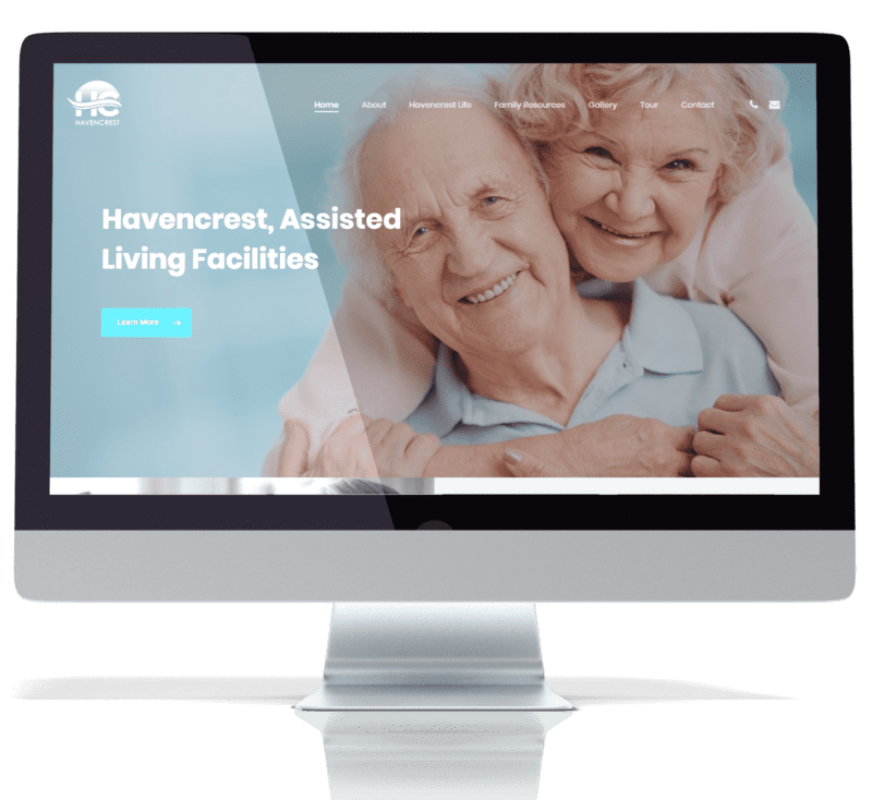 image of recent work for havencrest assisted living facility
