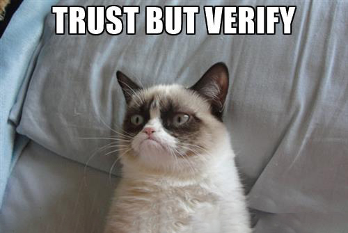 Trust, but Verify - Website Designer